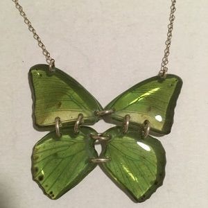 2/$20 Real Butterfly Wings in Jade Resin